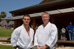 Lionel Aguilar et Fabien Deneuville